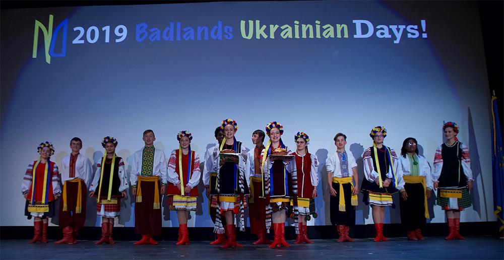 Opening of the 2019 Badlands Ukrainian Days
