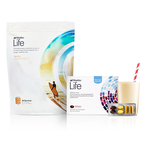 Shaklee Life Plan with pouch
