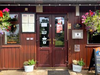 Reception & Pub Entrance