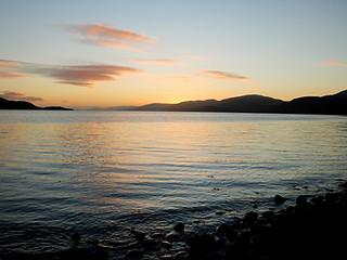 Sunset from Ardrhu Beach