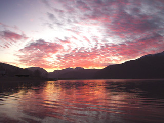 Sunrise from Onich