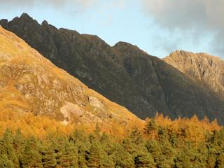 The Aonach Eagach Ridge