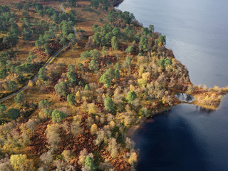 Autumn at Loch Tulla