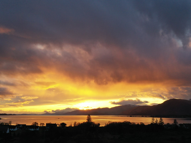 Sunset Explosion
