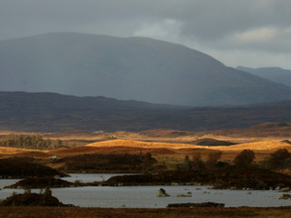 Fading Light on Rannoch Moor