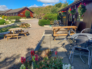 Pub Outdoor Seating Area