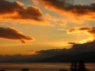 Sunset over Morven
