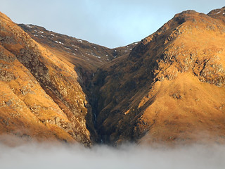 Fading light in Glen Etive