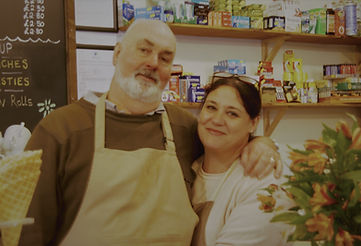 Owners - Paul and Anita Borthwick