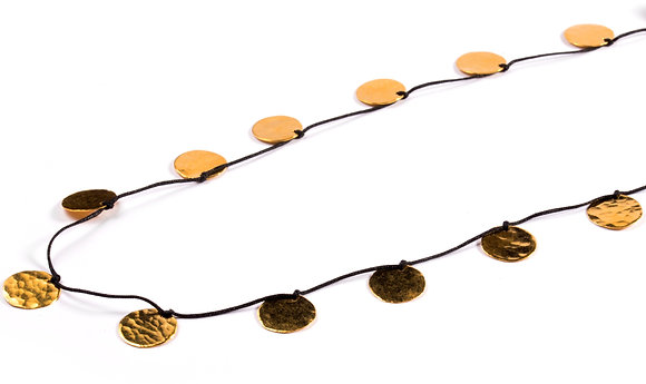 SMALL DISC COIN NECKLACE