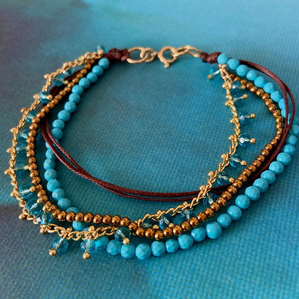 BLUE GALAXY BRACELET