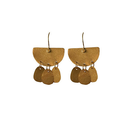GOLDEN ISIS EARRINGS