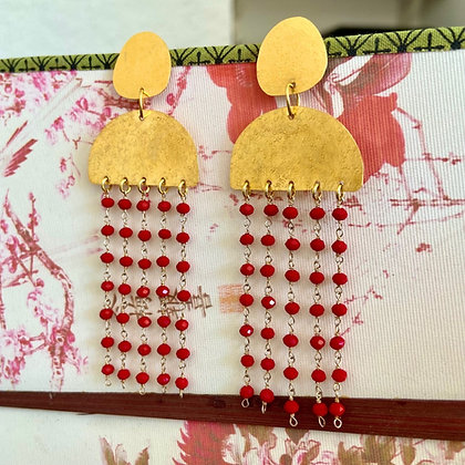 FIRE RAINDROPS EARRINGS