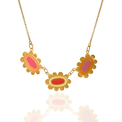 TRIPLE BLOSSOM NECKLACE