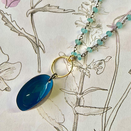 OCEANSIDE PISTACHIO NECKLACE
