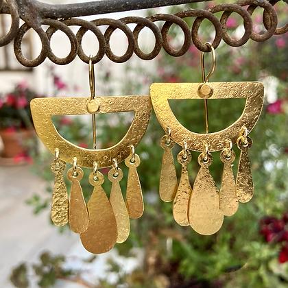 GOLDEN MOON EARRINGS