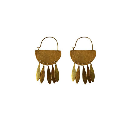 GOLDEN LEAVES EARRINGS