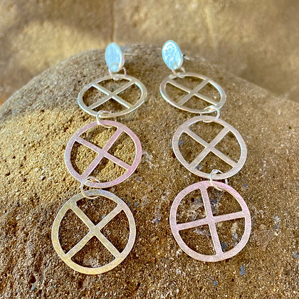 XX SILVER EARRINGS