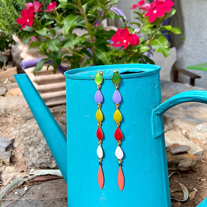 MULTI DROPS EARRINGS