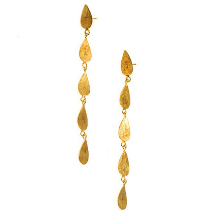 FIVE DROPLET EARRINGS