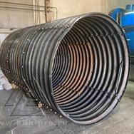 Водопропускные металлические гофрированные трубы (МГТ/ ЛМГ)