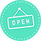 Open Sign by SOPE || WIX App Market