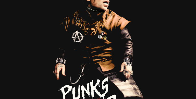 Camiseta Punks not Dead - Tyrion Lannister