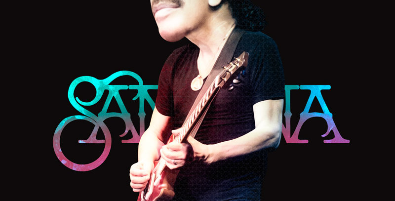 Camiseta Played by Carlos Santana