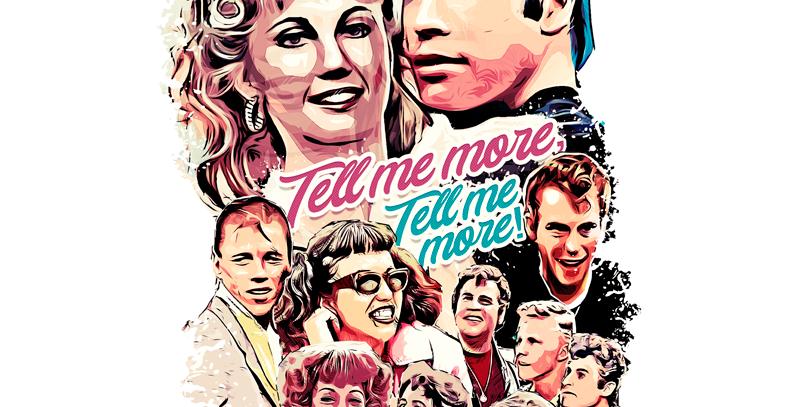 Camiseta Grease - Tell me more