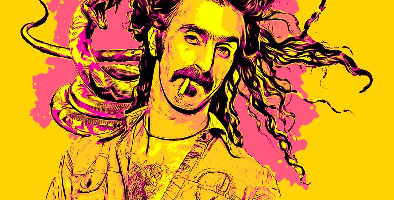 Camiseta Baby Snakes - Zappa
