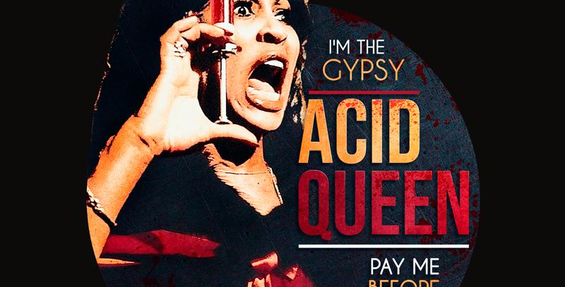 Camiseta Acid Queen