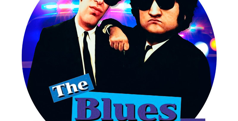 Camiseta The Blues Brothers
