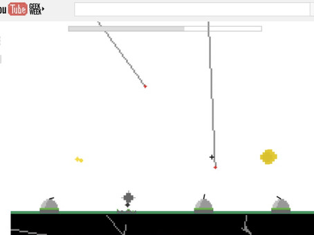 Play Missile Command on YouTube