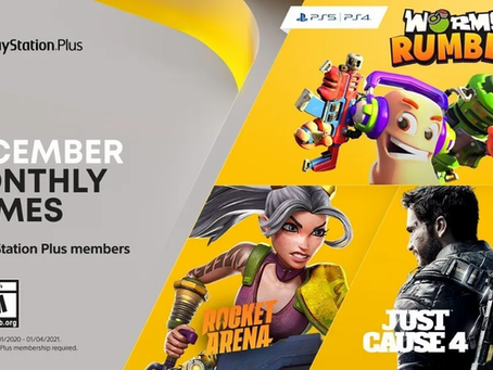 December 2020 PlayStation Plus games revealed
