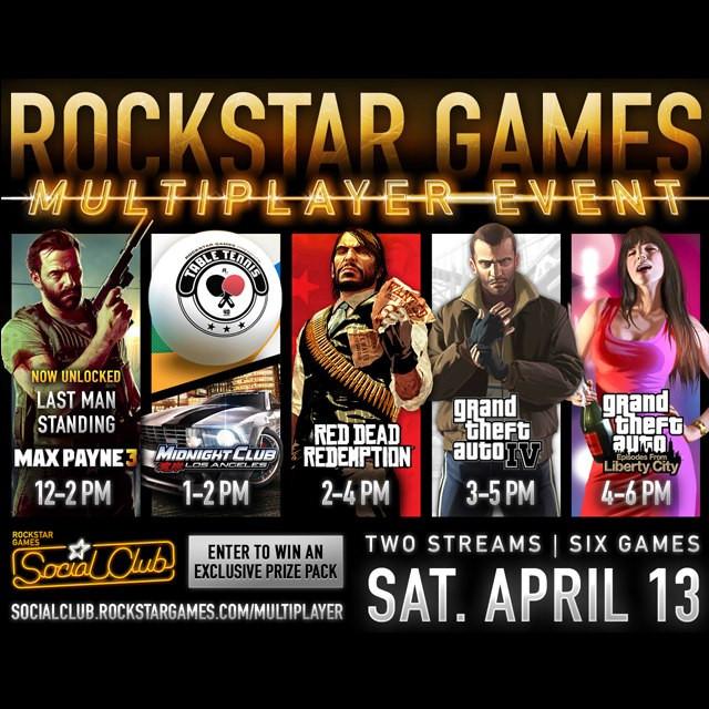 Rockstar, GTA, Red Dead, Max Payne, Midnight Club