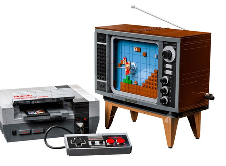 Nintendo and LEGO are releasing a brick Nintendo Entertainment System
