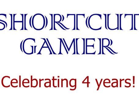 Shortcut Gamer celebrates 4 years