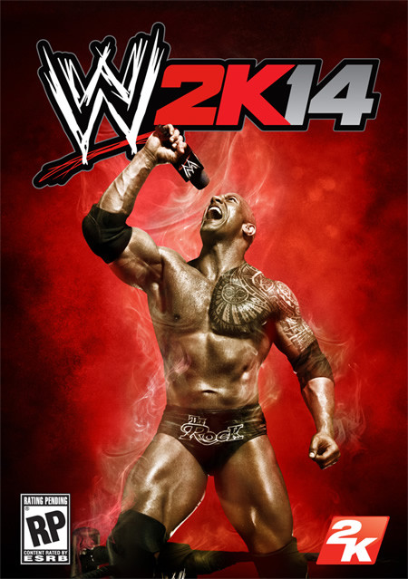 WWE 2K14, cover, The Rock