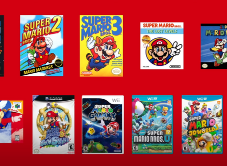 Everything from Nintendo's Super Mario Bros. 35th Anniversary Direct