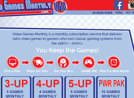 Around the Web (Episode 3): Video Games Monthly