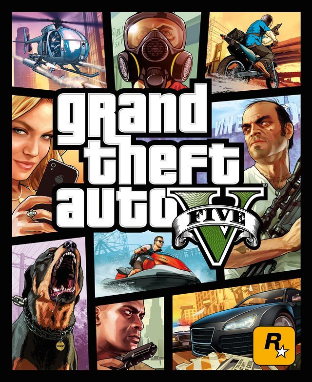 gta 5 cover art, official