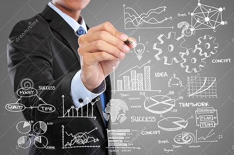 businessman-drawing-modern-business-conc