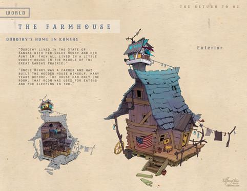 Farmhouse - Exterior