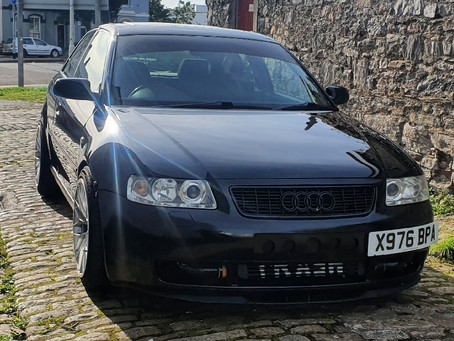Jamie's Audi A3