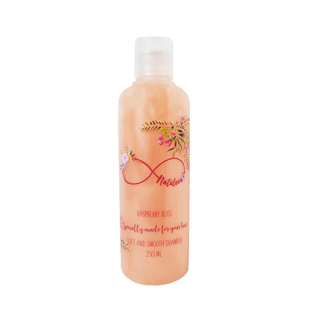 NATULOVA Soft and Smooth Shampoo Raspberry Bliss