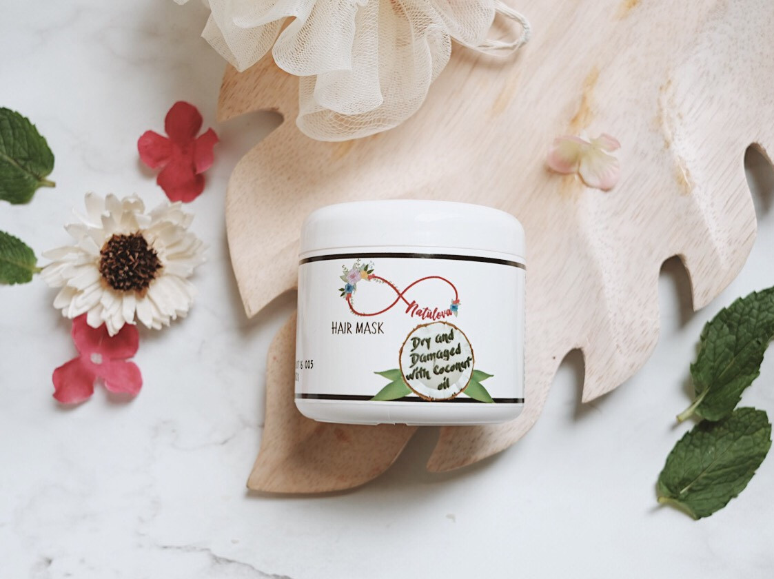 NATULOVA Hairmask Hair Dry and Damage with Coconut Oil