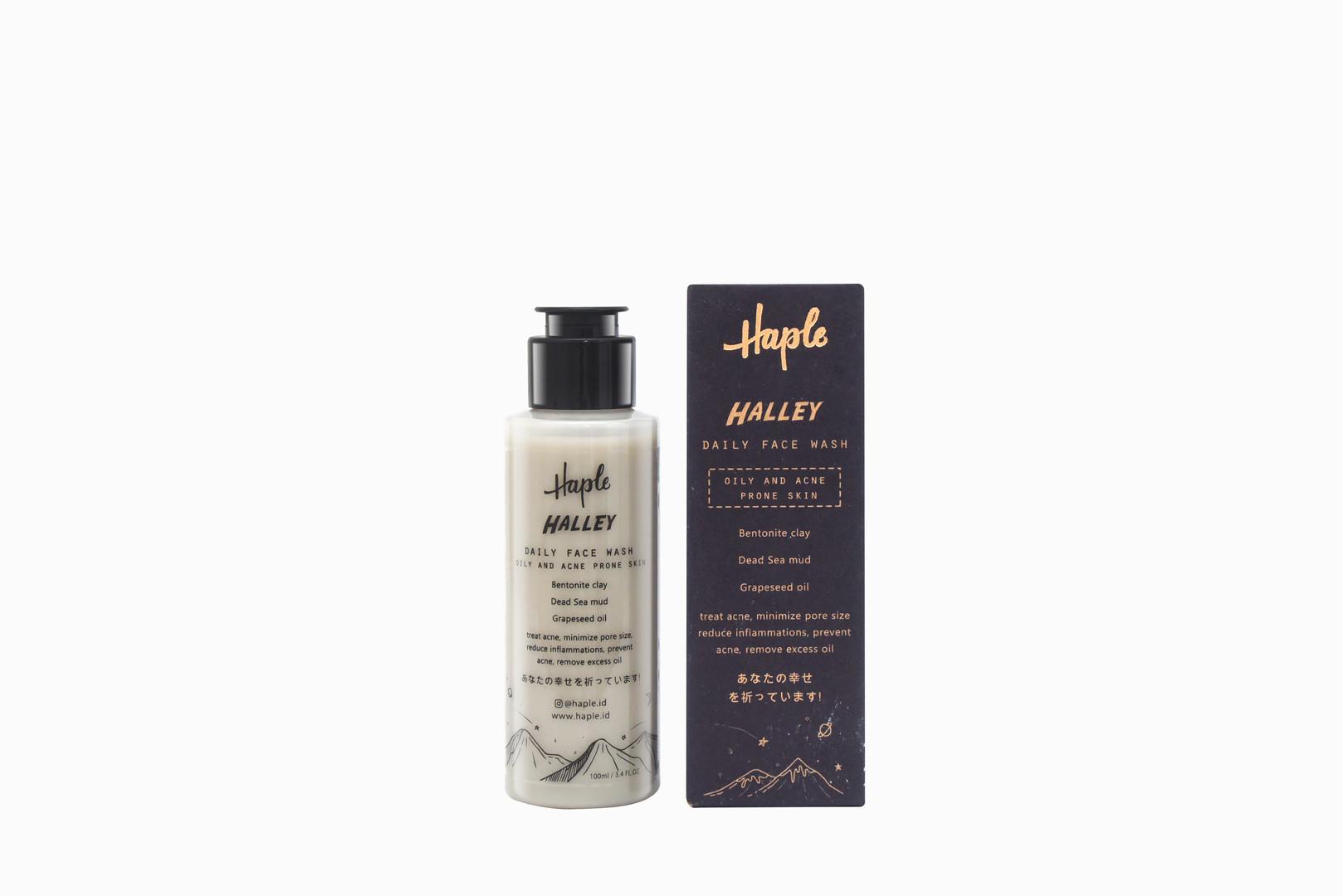 HAPLE Halley Face Wash