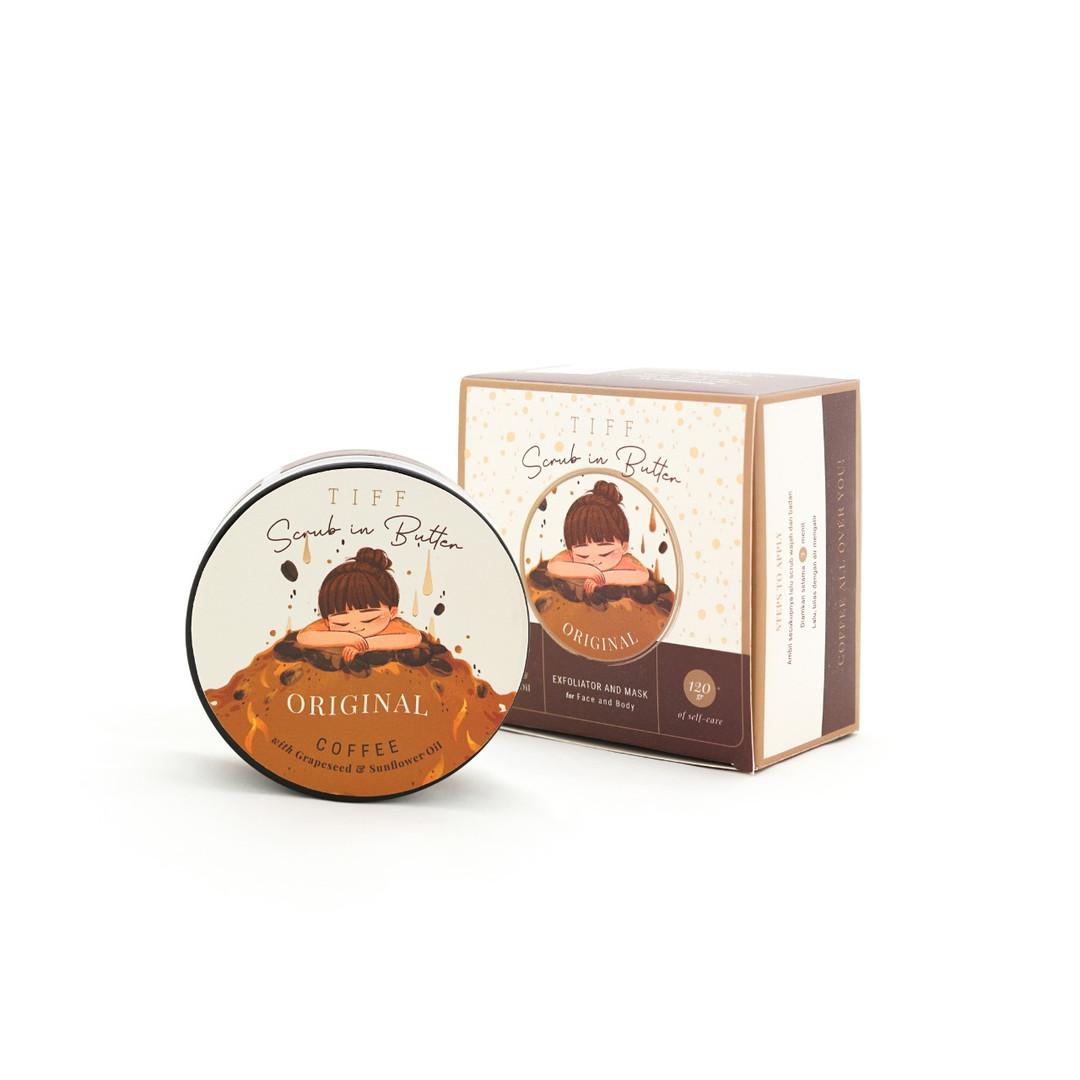 TIFF BODY Original Coffee Scrub In Butter