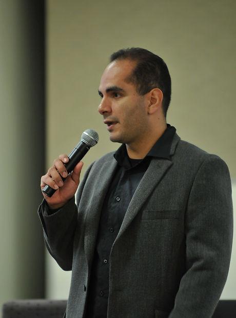 Guest Lecturer, Richard Velazquez