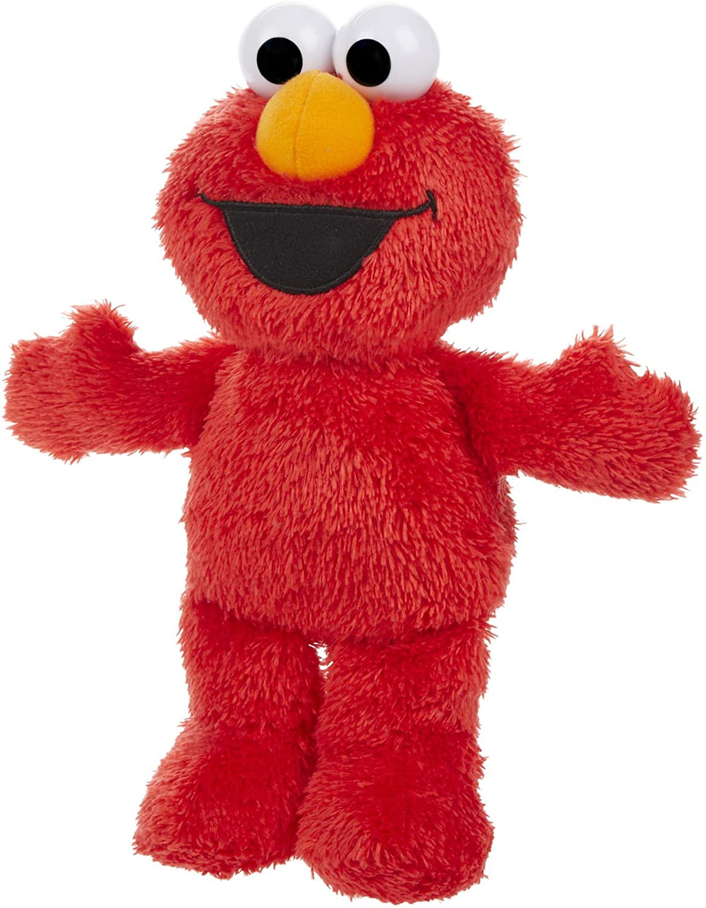 Elmo Sesame street plush toy doll red happy smiling for kids